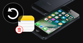 How to Retrieve Deleted Notes from iPhone 5
