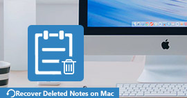 Recupera le note cancellate su Mac