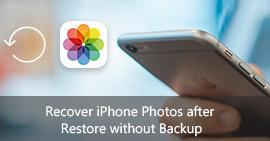 Ανάκτηση φωτογραφιών iPhone μετά την επαναφορά χωρίς δημιουργία αντιγράφων ασφαλείας