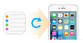 Restore/Recover iPhone Reminders