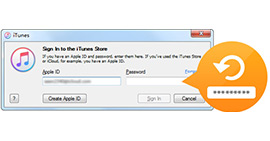 Recover iTunes Password