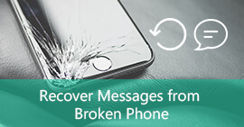 Recover Messages from Cracked Phone