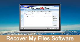 Odzyskaj moje pliki oprogramowania