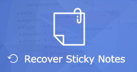 Recover Deleted Sticky Notes