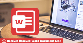 Recover Unsaved Word Document on Mac