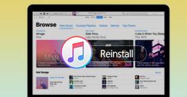 Disinstalla e reinstalla iTunes