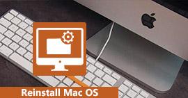 Zainstaluj ponownie komputer Mac