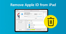 Remove Apple ID From iPad