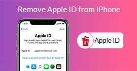 Rimuovi l'ID Apple dall'iPhone