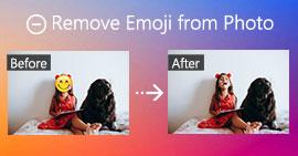 Usuń emotikony ze zdjęcia