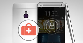 Διορθώστε την οθόνη κλειδώματος HTC