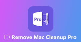 Removing Mac Cleanup Pro