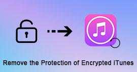 Rimuovi la protezione dei backup crittografati di iTunes