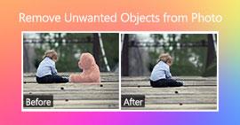Usuń niechciane obiekty ze zdjęcia