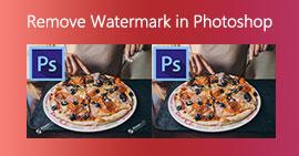 Usuń znak wodny w Photoshopie