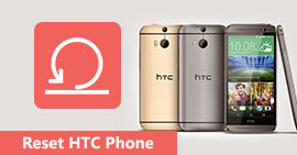 Reset A Locked HTC Phone
