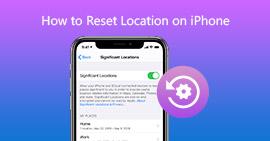 Zresetuj lokalizację na iPhonie