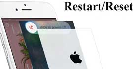 Restart and reset the iPhone