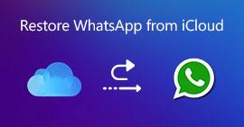 Ripristina WhatsApp da iCloud