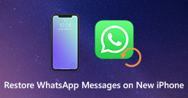 Restore WhatsApp Messages on New iPhone