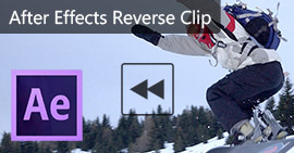 Clip video inversa con After Effects