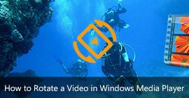 Ruota un video in Windows Media Player