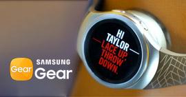 Documento di aiuto di Samsung Gear Manager