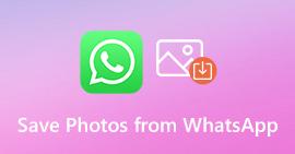 Salva foto da WhatsApp