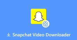 Sla Snapchat-video's op