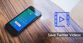 Salva i video di Twitter