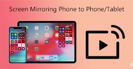 Οθόνη Mirroring Phone to Phone Tablet