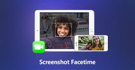 Screenshot FaceTime