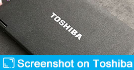 Screenshot on Toshiba