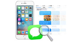 Search and Back up Text Messages on iPhone