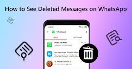 Vedi Messaggi eliminati su WhatsApp