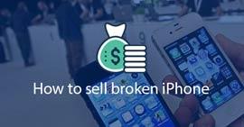 Vendi iPhone rotto