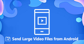 Send Large Video Files from Android