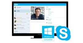 在Windows 8上共享Skype屏幕
