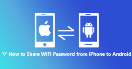 Condividi la password WiFi da iPhone ad Android