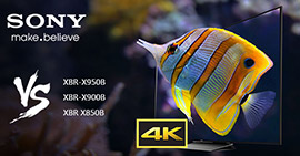 Confronto TV 4K di Sony