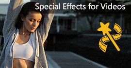 Special effects for videos
