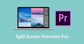 Premiere Pro na podzielonym ekranie