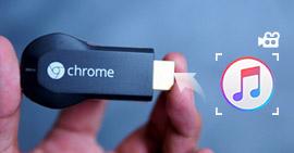 Przesyłaj strumieniowo iTunes do Chromecasta