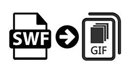 SWF a GIF