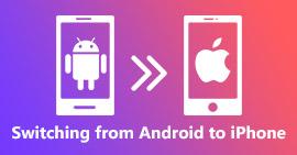 Overschakelen van Android naar iPhone