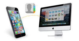 Sincronizza i contatti da iPhone a Mac