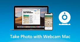 Scatta foto con la webcam su Mac