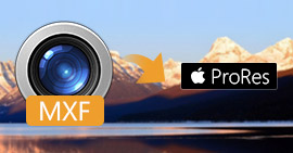 Converti MXF in Apple ProRes