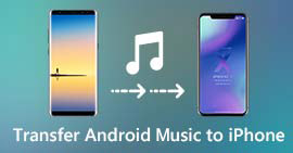 Come trasferire musica Android su iPhone