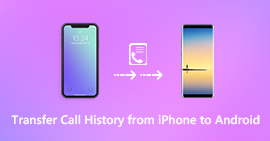 Transfer Call History from iPhone to Android